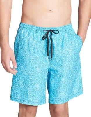 Calvin Klein Elasticized Swim Trunks