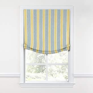 Loom Decor Relaxed Roman Shade Chantilly Stripe - Custard