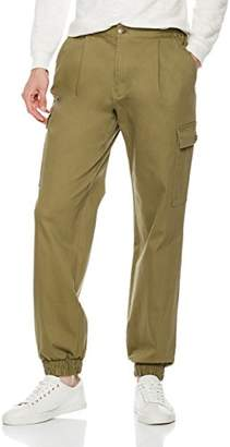 Co Quality Durables Men's Regular Fit Stretch Cargo Jogger Pant 40x32
