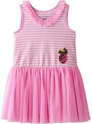 Girls 4-6x Marmellata Classics Pineapple & Striped Tutu Dress