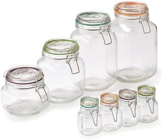Pfaltzgraff 8-pc. Assorted Clamp Jar Set