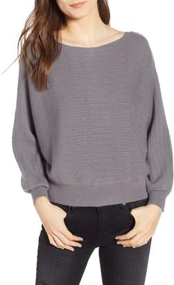 Cotton Emporium Dolman Boat Neck Sweater