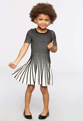 Milly Minis MillyMilly Contrast Godet Flare Dress