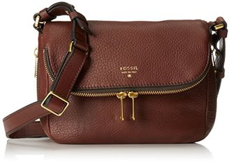 Fossil Preston Small Flap Cross Body Bag $118.83 thestylecure.com