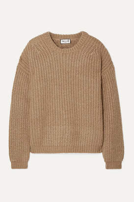Paul & Joe Malicieux Ribbed-knit Sweater - Camel