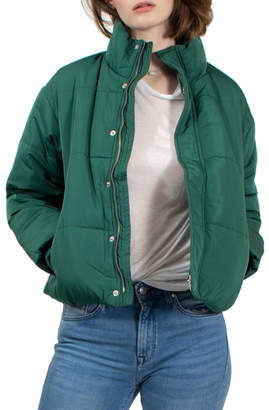 RVCA Cropped Puffer Jacket
