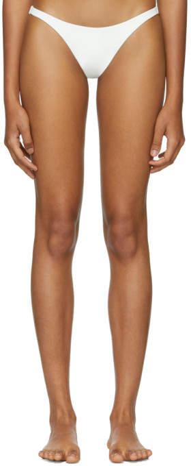 Her Line White Tri Bikini Briefs