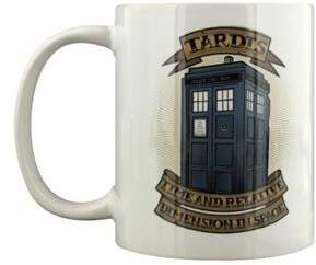 Doctor Who Tardis Tattoo 10Oz Ceramic Mug