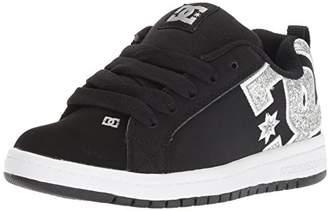 DC Kids' Youth Court Graffik Skate Shoe