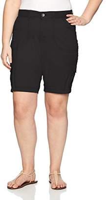 Lee Women's Plus-Size Relaxed Fit Diani Knit Waist Bermuda Short