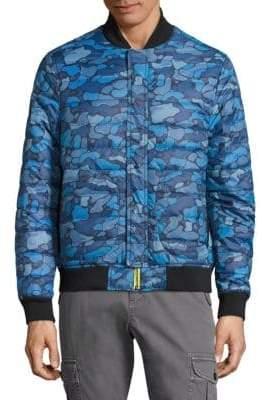Michael Bastian Camo Puffer Jacket