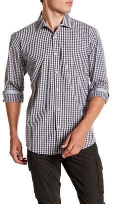 Bristol & Bull Check Long Sleeve Sport Fit Shirt