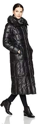 Haven Girl Women's Maxi Pillow Collar Puffer Jacket