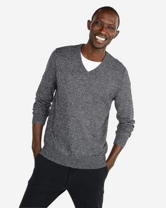 Express V-Neck Pullover Sweater