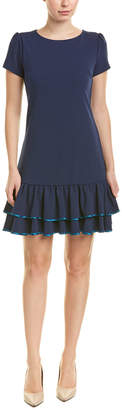 Betsey Johnson Ruffle Shift Dress
