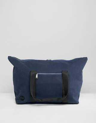 Mi-Pac canvas carryall bag in navy