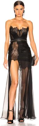 Aadnevik Bustier Gown in Black   FWRD