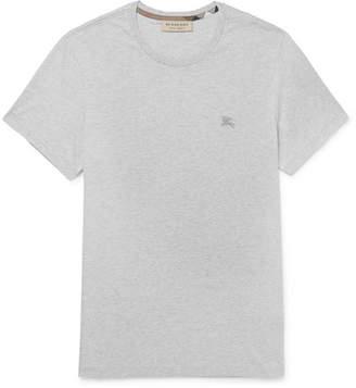 Burberry Mélange Cotton-Jersey T-Shirt