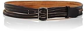 Saint Laurent Women's Aviator Leather Belt