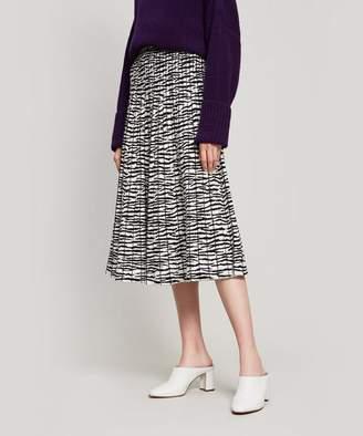 Proenza Schouler Tiger Print Midi-Skirt
