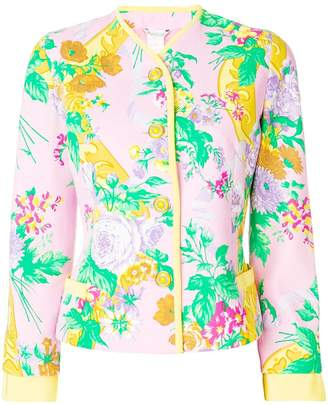 Gianni Versace Versace Pre-Owned ISTANTE by floral jacket