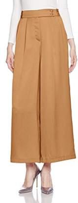Lily Brown (リリー ブラウン) - (リリーブラウン)Lily Brown レースベルトワイドパンツ LWFP172118 38 CML 0