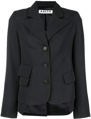 Aalto peaked lapel tailored jacket