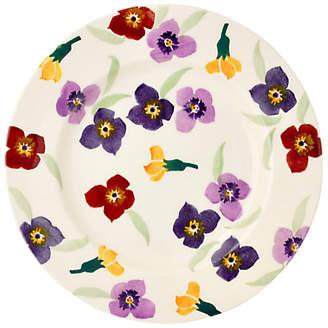 Emma Bridgewater Wallflower Side Plate, Multi, Dia.22cm