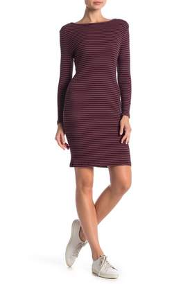 French Connection Tim Tim Rib Stripe Dress