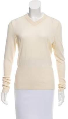 Hermes Cashmere V-Neck Sweater