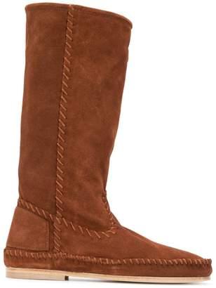 Alberta Ferretti knee length boots