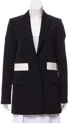 Givenchy Wool Peak-Lapel Blazer