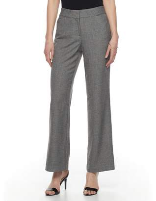 Dana Buchman Women's Midrise Curvy Fit Dress Pants