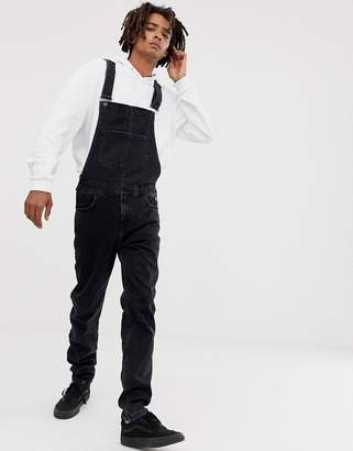 Brooklyn Supply Brooklyn Supply dungarees in washed black