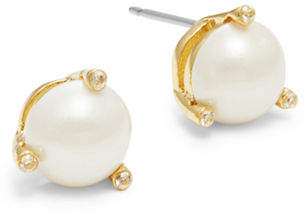 Kate Spade Rise and Shine Faux Pearl Stud Earrings