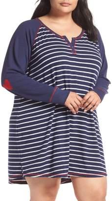 PJ Salvage Nighty Nightshirt (Plus Size)