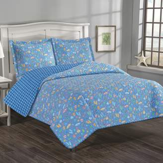 Grand Collection Summertime Fun Reversible Quilt Set