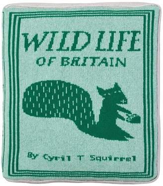Wilson Donna Wild Life Book Lambswool Pillow