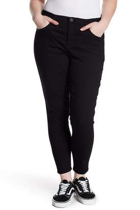 Democracy High Rise Ab Tech Ankle Skinny Jeans (Plus Size)