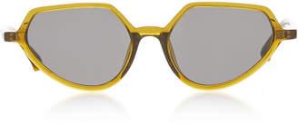 Dries Van Noten Round Acetate Sunglasses
