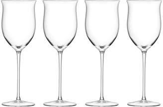 LSA International Wine Rose Glass Set of 4
