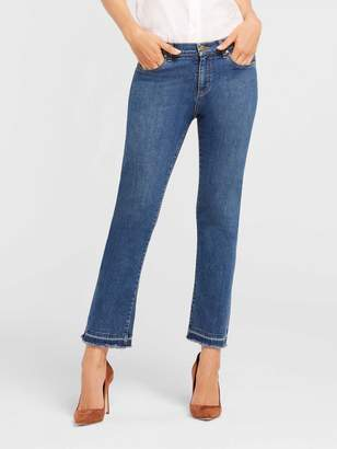 Draper James Crop Flare Denim