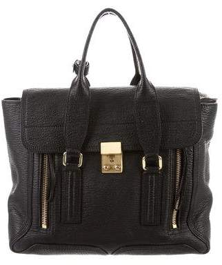 3.1 Phillip Lim Leather Large Pashli Satchel