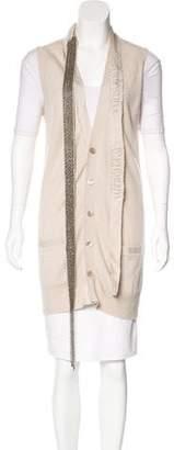 Robert Rodriguez Cashmere Embellished Vest