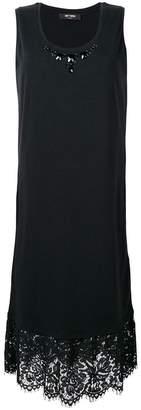 Twin-Set lace trim embellished dress