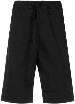 Stone Island Shadow Project elastic waist shorts