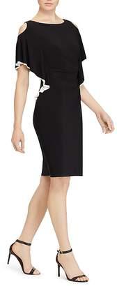 Lauren Ralph Lauren Cold-Shoulder Dress
