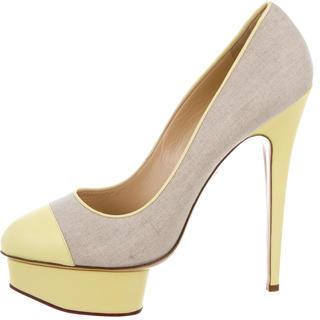 Charlotte Olympia Charlotte Olympia Dolly Platform Pumps