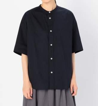 BSHOP (ビショップ) - ビショップ 【LE GLAZIK】半袖バンドカラーシャツ KRS WOMEN