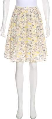 Boy By Band Of Outsiders Silk-Blend Skirt